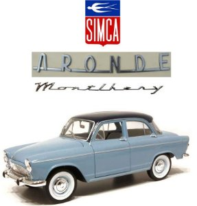 Norev - Simca Aronde P60 Montlhery - 1/18