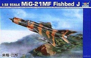 TRUMPETER - MiG-21MF Fishbed J - 1/32
