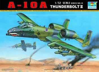 TRUMPETER - A-10A THUNDERBOLT II - 1/32