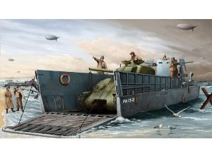 TRUMPETER - WWII US NAVY LCM (3) LANDING CRAFT - 1/35