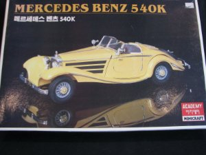 ACADEMY - MERCEDES BENZ 540K - 1/16