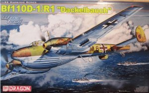 DRAGON - Bf110D-1/R1 Dackelbauch - 1/32