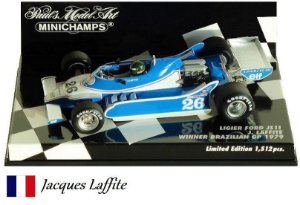 Minichamps - Ligier JS11 Ford F1 1979 - 1/43