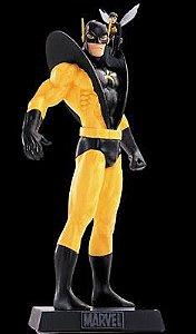 Eaglemoss - Jaqueta Amarela e a Vespa (YellowJacket and Wasp) - Figura em Metal