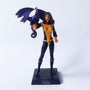 Eaglemoss - Lince Negra (Shadowcat) - Figura em Metal