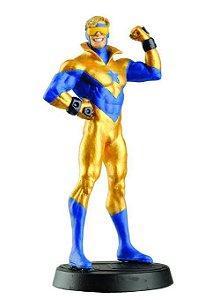 Eaglemoss - Gladiador Dourado (Booster Gold) - Figura em Metal