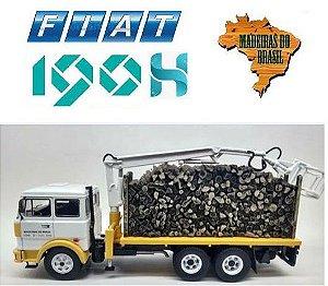 Ixo - Caminhão Fiat 190h 1978 - Madeiras do Brasil - 1/43