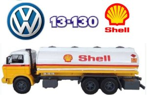 Ixo - Caminhão Volkswagen VW13-130 1981 - Shell Combustíveis - 1/43