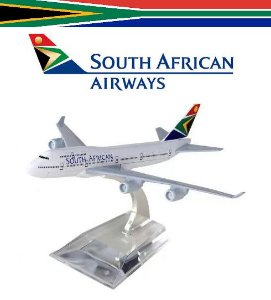 PPM Models - Boeing 747 - South African Airways (SAA)