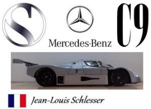 Exoto - Sauber C9 Mercedes-Benz Esporte Protótipos 1989 - 1/18