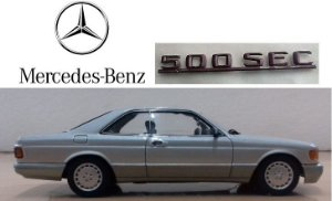 Auto Art - Mercedes-Benz 500 SEC (W126) 2005 - 1/43