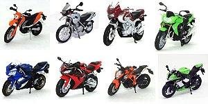 California Toys - Coleção California Cycle (Motos Sortidas) - 1/18