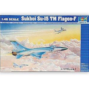 TRUMPETER - SUKHOI SU-15TM 'FLAGON-F' - 1/48