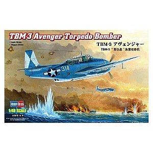 HOBBY BOSS - TBM-3 AVENGER  TORPEDO BOMBER - 1/48