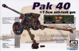 AFV Club - German PAK 40 7.5cm Anti-Tank Gun - 1/35