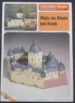 Schreiber-Bogen - Pfalz im Rhein bei Kaub - 1/250