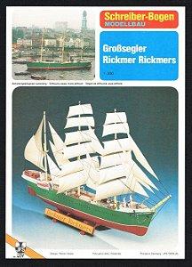 Schreiber-Bogen - Großsegler Rickmer Rickmers - 1/200