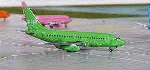 AERO CLASSICS - BOEING 737-200 ZIP GREEN - 1/400