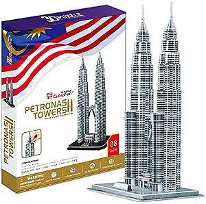 CubicFun - Petronas Towers - Puzzle 3D