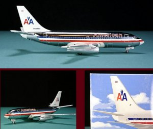 JET-X - BOEING 737-200 AMERICAN AIRLINES - 1/400