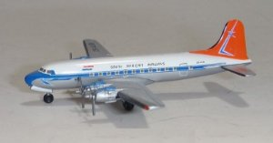 HERPA - DOUGLAS DC-4 SOUTH AFRICAN AIRWAYS - 1/500