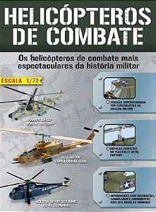 Coleção Helicópteros de Combate Altaya - 1/72