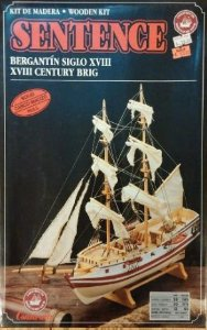 Constructo Modelismo Naval - XVIII Century Brig Sentence - 1/100