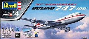 Revell - 50th Anniversary Boeing 747-100 - 1/144