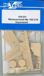 HI-TECH - MESSERSCHMITT BF-109 G10 - 1/48