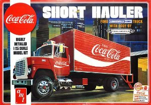 AMT - Ford Louisville Short Hauler 1970 (Coca-Cola) - 1/25