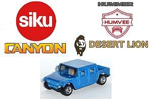 Siku - Sikucanyon (Baseado no Hummer Humvee Desert Lion) - 1/55