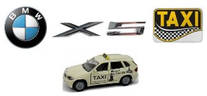 Siku - BMW X5 Deutsche Taxi (Taxi Alemão) - 1/55