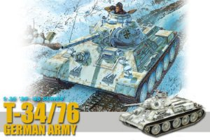 DRAGON - T34/76 GERMAN ARMY - 1/35