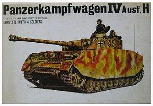 BANDAI - PANZER IV AUSF. H - 1/48