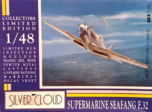 SILVER CLOUD - SUPERMARINE SEAFANG F.32 - 1/48