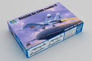 TRUMPETER - SU-33UB FLANKER D - 1/72