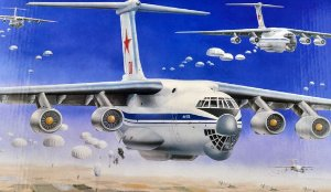 TRUMPETER - ILYUSHIN IL-76 TRANSPORT 1/144