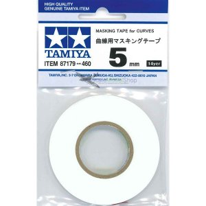TAMIYA - MASKING TAPE FOR CURVES 5MM - MÁSCARA PARA CURVAS
