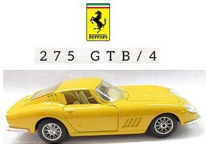 Burago - Ferrari 275 GTB/4 1966 (sem caixa) - 1/24