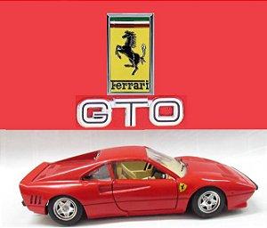Burago - Ferrari GTO 1984 (sem caixa) - 1/24