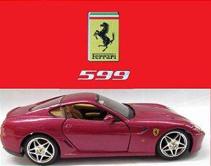 Maisto - Ferrari 599 (sem caixa) - 1/24