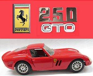 Burago - Ferrari 250 GTO 1962 (sem caixa) - 1/24
