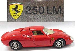 Burago - Ferrari 250 LM (sem caixa) - 1/24