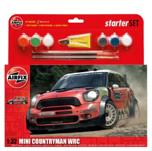 AIRFIX - MINI COUNTRYMAN WRC - 1/32