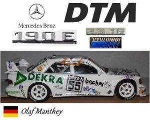 Minichamps - Mercedes-Benz 190 E 2.3-16 Evolution 2 DTM - 1/43