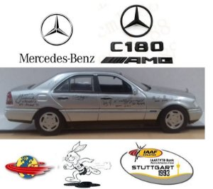 "Minichamps - Mercedes-Benz C180 Special Edition ""Car of The World Champions"" - 1/43"