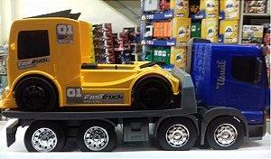 Usual Brinquedos - Caminhão Huracán Plataforma com Caminhão