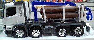 Usual Brinquedos - Caminhão Huracán Plataforma com Toras