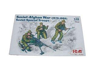 ICM - SOVIET-AFGHAN WAR (1979-1988) - SOVIET SPECIAL TROOPS - 1/35
