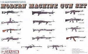 DRAGON - MODERN MACHINE GUN SET - 1/35